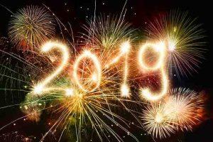 Sylvester 2018 Neujahr 2019